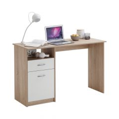 Bureau Jady - chêne/blanc