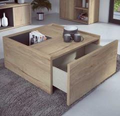 Table basse Frame - chêne clair