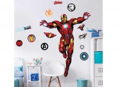 Sticker mural XL Iron Man