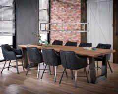 Table à manger Isla 300x100 cm - épaisseur 60 mm