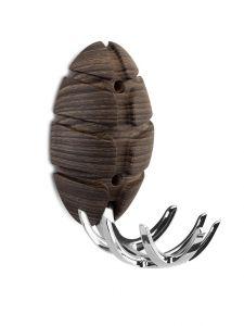 Portemanteau Bug - décor bois foncé