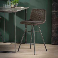 Set de 4 chaises de bar Bailey - anthracite