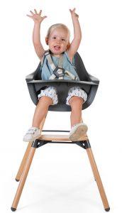 Chaise enfant Evolu 2 - naturel/anthracite
