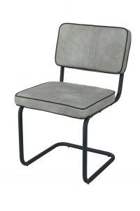 Lot de 2 chaises Pierre - gris clair