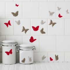 Stickers Elegant Butterflies