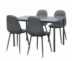 Table et chaises Louisa