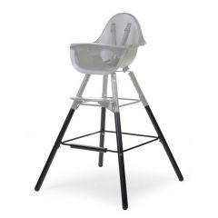 Pieds longs et repose-pieds pour chaise haute Evolu 2 - noir