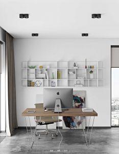 Table Multis 180cm - noyer/chrome