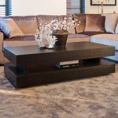 Table basse Oakura 150x80cm - noir