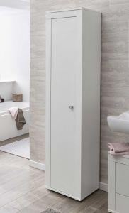 Colonne salle de bains Rutger 1 porte - blanc