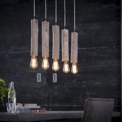 Suspension Ilyas 5 lampes