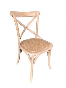 Lot de 2 chaises Erdo - brun