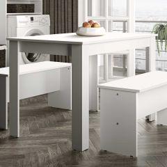 Table à manger Nice - blanc