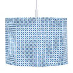 Suspension Vintage - bleu