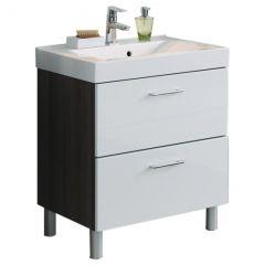 Meuble lavabo Marinello 70cm - blanc