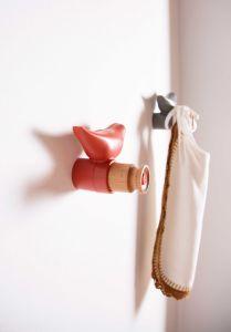 Crochet Oiseau - rouge