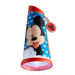 Veilleuse et lampe de poche Mickey Mouse