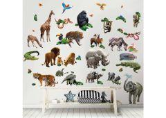 Stickers muraux Jungle Adventure
