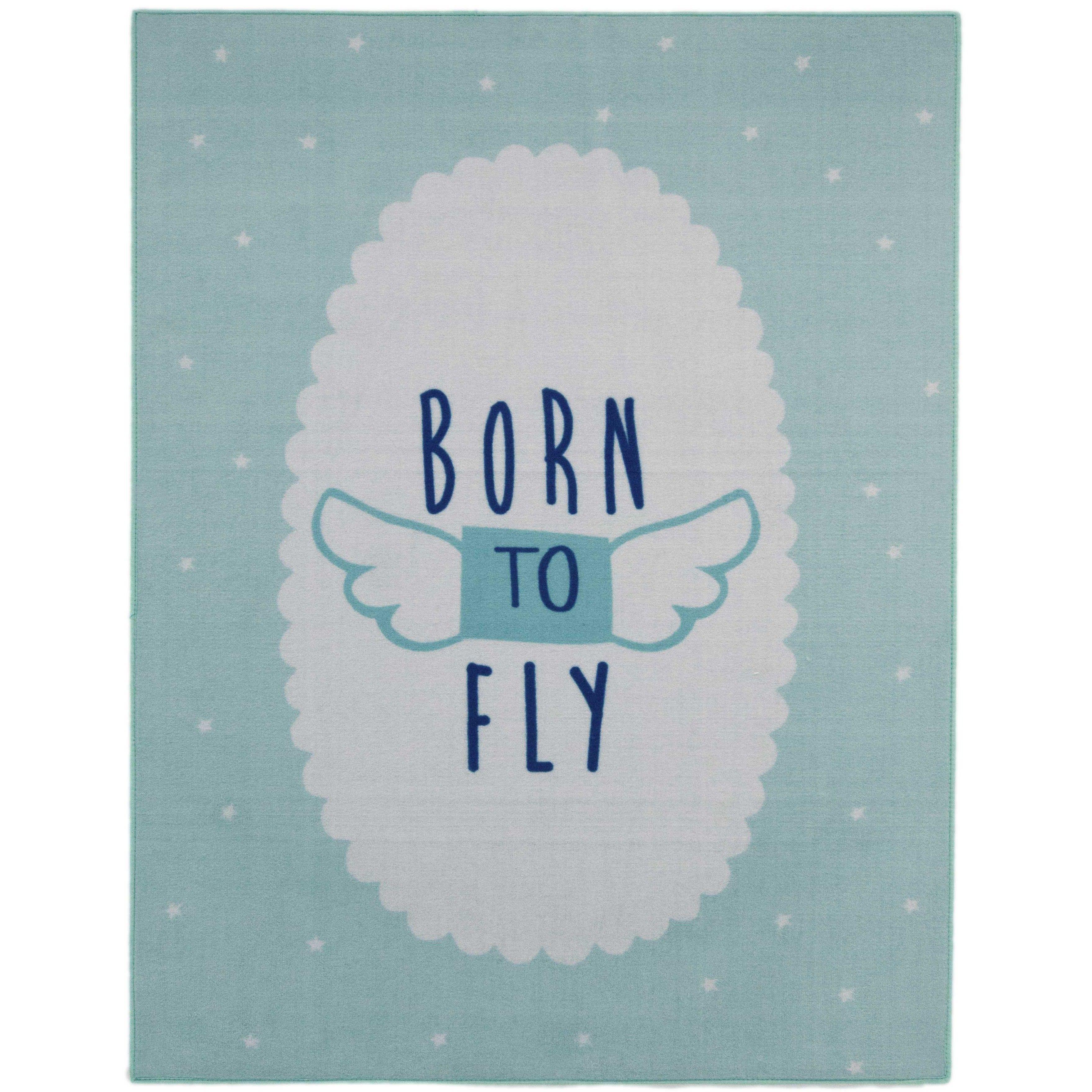 Tapis enfant Born To Fly
