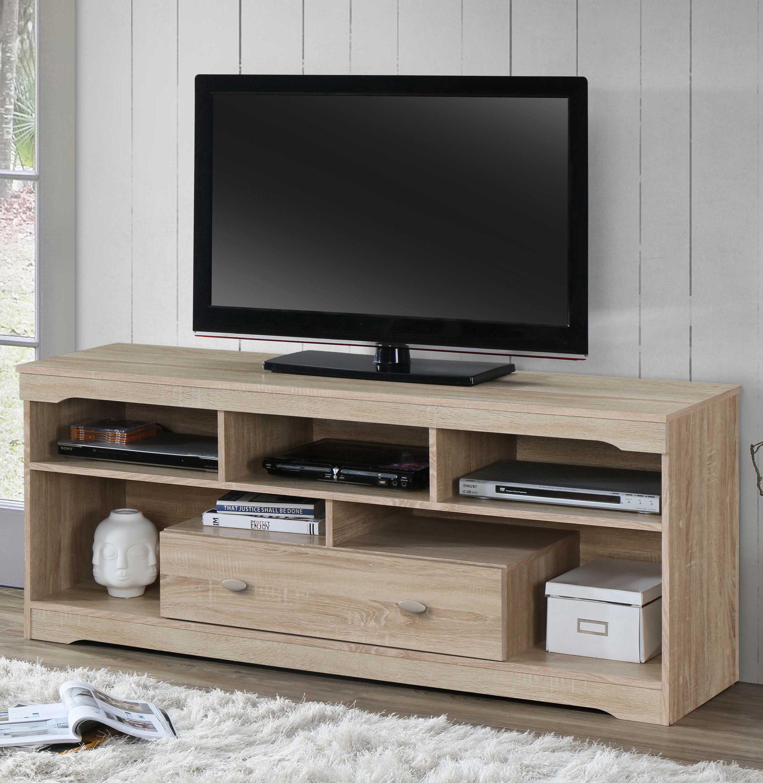 Meuble Tv Mersin 150cm Chene Poldimar Emob
