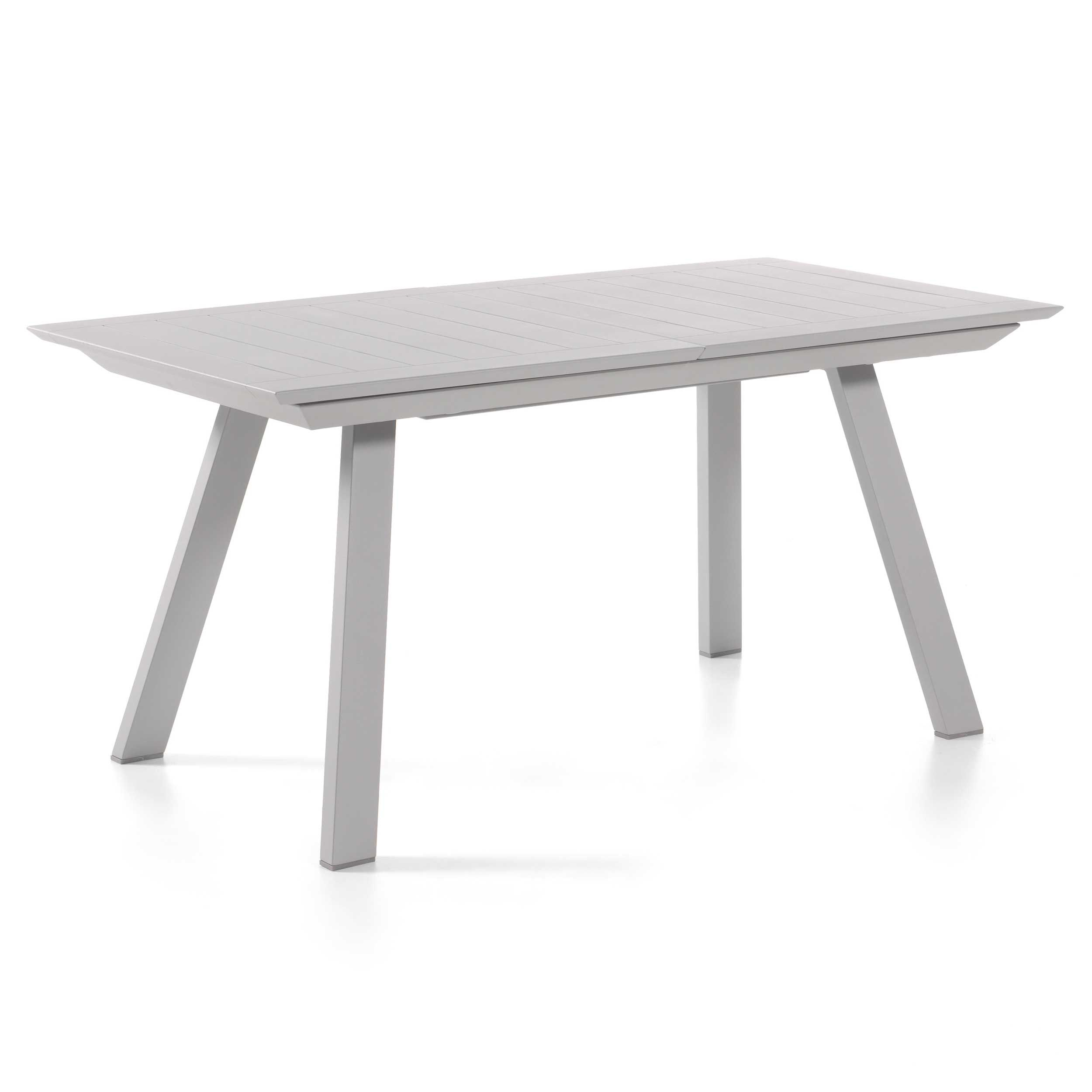 Table de jardin extensible Casey 160/240 - gris