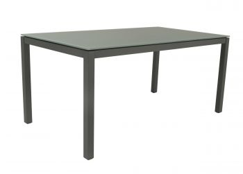 Table de jardin Bendigo 220x100 - anthracite/gris clair