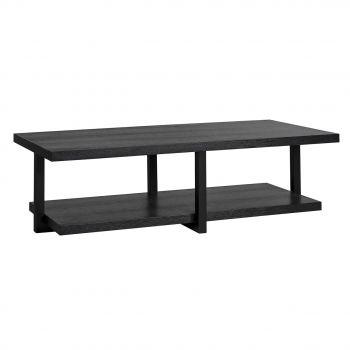 Table basse Oakura 140x65cm - noir