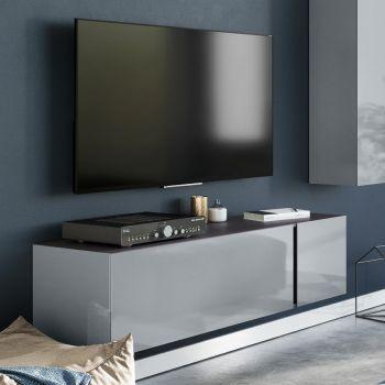 Meuble TV Mussa 140cm - gris