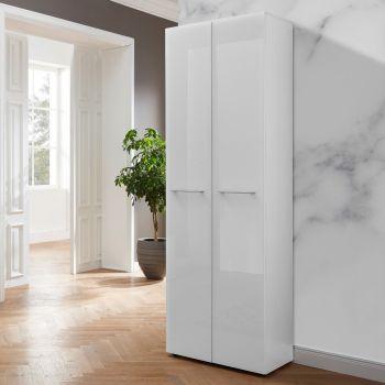 Armoire vestiaire Scifo 59 cm avec 2 portes - blanc