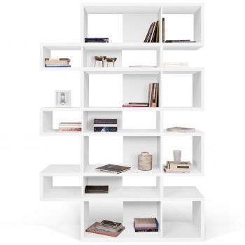 Bibliothèque Lisbon 3 - blanc