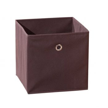 Boîte de rangement pliable Winny - brun