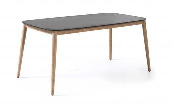 Table de jardin Helsinki 213x100 - noir