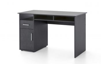 Bureau Maxi-office 125cm - graphite