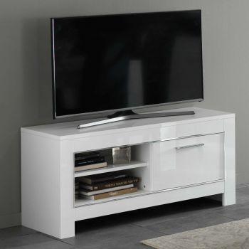 Meuble TV Modena 112 cm - blanc