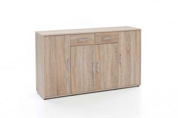 Bahut Denise 4 portes & 2 tiroirs - chêne
