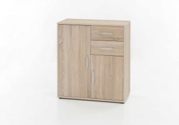 Bahut Denise 2 portes & 2 tiroirs - chêne