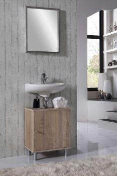 Meuble sous lavabo Rowan - chêne