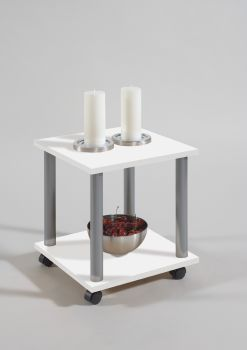 Table d'appoint Jango - blanc