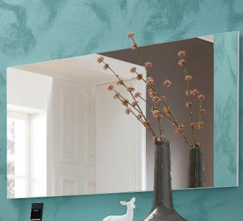 Miroir Scifo 87cm - blanc