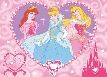 Tapis Princesses Disney - Jewels