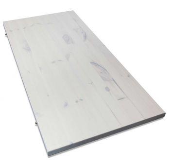 Tablette escamotable Edmund 44 cm - blanc