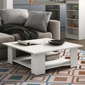 Table basse Square 89x89 - blanc