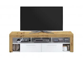Meuble TV Vidi 180 cm - chêne vielli