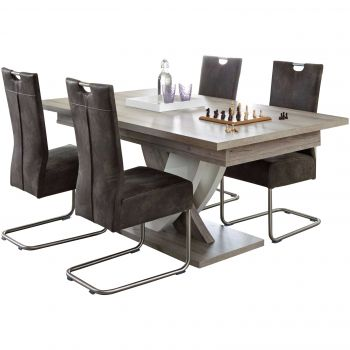 Table extensible design Karim - 185>225cm