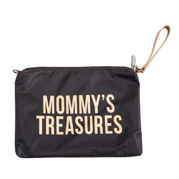 Pochette Mommy - noir/or