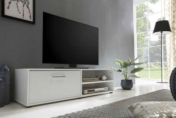 Meuble TV Sami 1 porte 120cm - blanc
