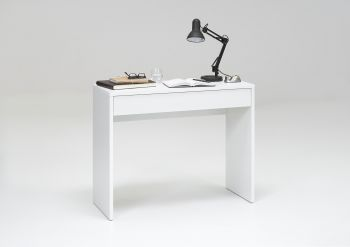 Console Greg 100cm avec tiroir - blanc