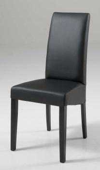 Set de 2 chaises Roko - noir