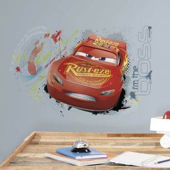 Sticker mural Cars 3 Flash McQueen