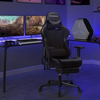 Chaise gamer Linx - noir